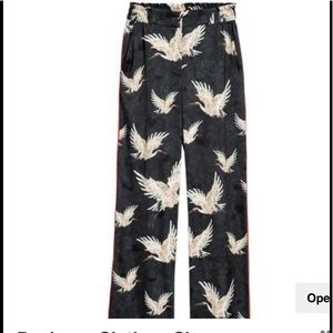 H&M silk pants